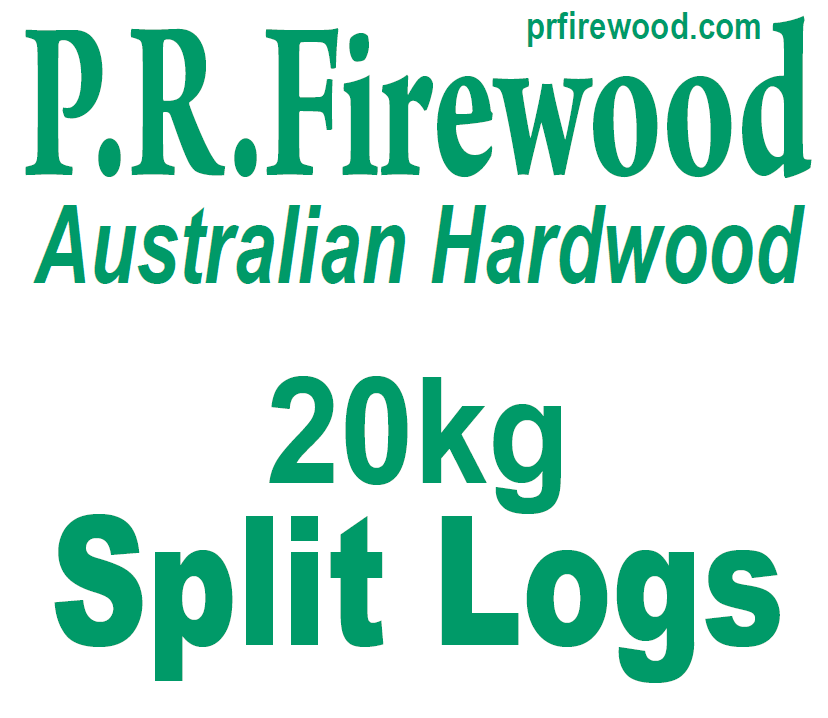 PR Firewood 20kg Bags of Seasoned, Split Firewood
